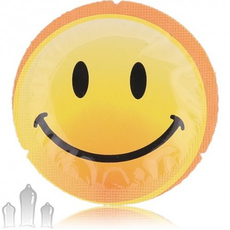 EXS Smiley Face prezervativ