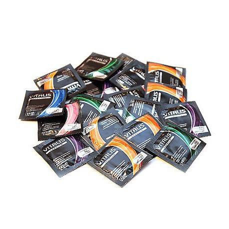 Prezervatīvi Vitalis dažādu veidu komplekts (15 gab.)