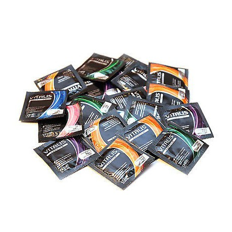 Vitalis prezervatīvu komplekts (100 gab.)