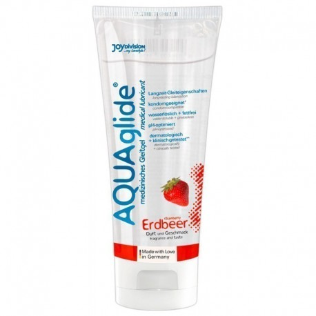 AquaGlide Strawberry 100 ml lubrikants