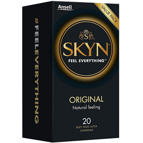 Prezervatīvi Skyn Original 20 gab. kārbiņā