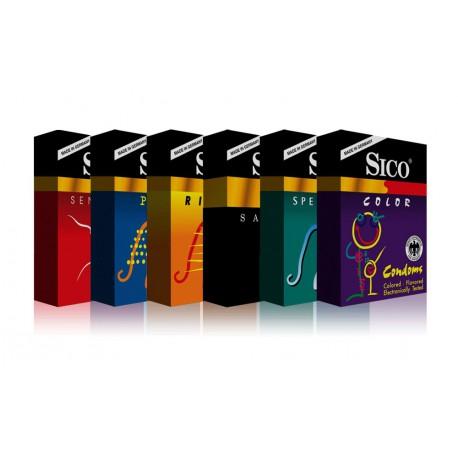 Sico prezervatīvu komplekts (20 gab.)