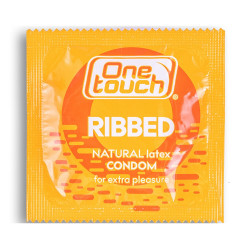 ONE Touch Ribbed prezervatīvi