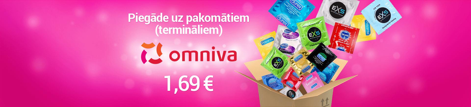 Prezervatīvu piegādes reklāma
